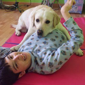 terapia para discapacitados con perros